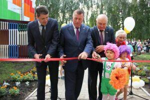 В Тетюшах открылся обновленный детский сад «Березка»