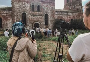 В Татарстане в заброшенном храме прошли съемки фильма о голоде в Поволжье