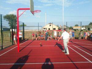 В Чистопольском районе состоялось открытие двух новых спортивных площадок