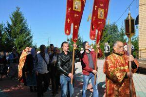 В Нижнекамске День трезвости отметили крестным ходом и концертом