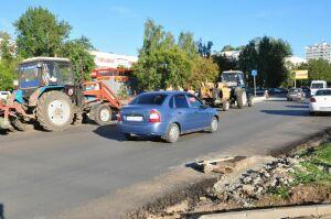 В Набережных Челнах при реконструкции улицы Татарстан усилят меры безопасности