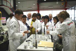 Директора школ Альметьевского района оценили «Колледж будущего Татарстана»