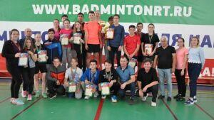 В Сабинском районе прошел чемпионат РТ по бадминтону среди сельских районов