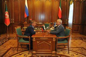 Рустам Минниханов: Товарооборот Татарстана и «ЛУКОЙЛа» достиг 50 миллиардов рублей