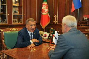 Татарстан и «ЛУКОЙЛ» продолжат сотрудничество по реализации социальных проектов