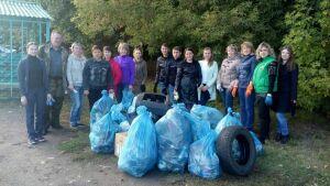 Лесные массивы Чистополя привели в порядок в рамках акции «Чистые леса Татарстана»