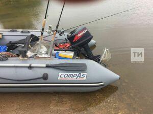 В Рыбно-Слободском районе РТ рыбак выпал из лодки и утонул