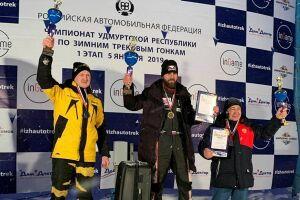 Нижнекамский гонщик завоевал серебро на зимнем треке в Ижевске