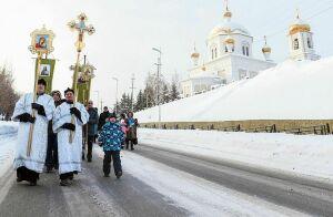 В Нижнекамске ожидается большое число желающих окунуться в прорубь на Крещение