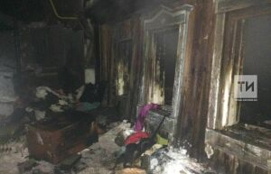 В Чистополе женщина пришла в гости к подруге и погибла на пожаре