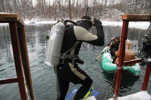 Дайверы РГО проведут 10 часов подо льдом казанского озера ради мирового рекорда