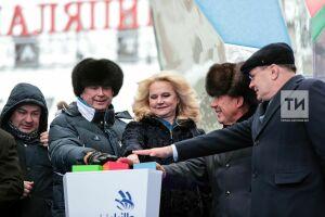 Минниханов и Бартли запустили в Казани кнопку обратного отсчета времени до WorldSkills-2019