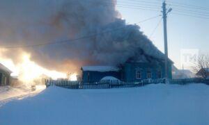 В Татарстане пьяный мужчина сгорел вместе с домом из-за непотушенной сигареты