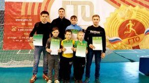 В Актанышском районе более 70 школьников поборолись за победу в национальной борьбе