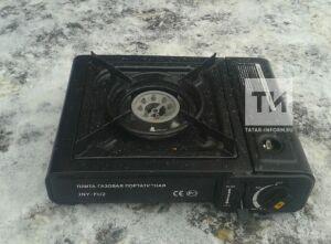 В Татарстане водителя «КАМАЗа» госпитализировали после того, как он пытался разжечь плитку в кабине