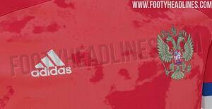 Фото новой формы сборной России по футболу появилось в Интернете