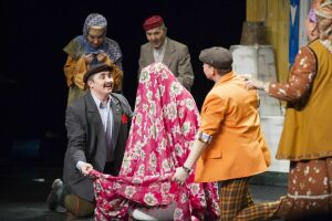 В Москве премьерой «Кыз урлау» открылись гастроли Мензелинского драмтеатра