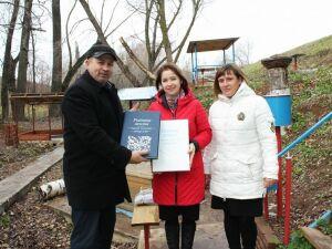 На роднике в нижнекамском селе Болгар открыли площадку для чтения книг