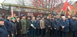 В Кукморском районе установили памятные доски в честь воинов-интернационалистов