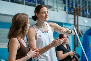 Мастер-класс и автографы: Казань посетили сестры – олимпийские чемпионки по плаванию