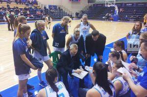 Баскетболистки «Казаночки» прервали свою победную серию вСуперлиге-1