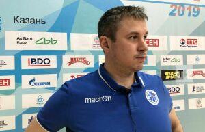 Старший тренер «Динамо-Казани»: Сегодня невыполнили установку наигру