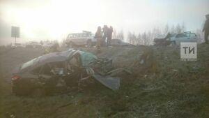 Жертвы смертельной аварии на трассе в РТ не были пристегнуты ремнями безопасности