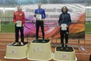 Легкоатлет из Заинска занял сразу два призовых места на Всероссийском турнире