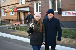 Новоселы из Чистополя получили ключи от новых квартир