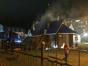 В Зеленодольске задержали подозреваемую в поджоге храма Казанской иконы Божией Матери