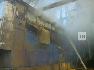 В Лаишевском районе пожарные ликвидировали тление семечек в зерносушилке комбината