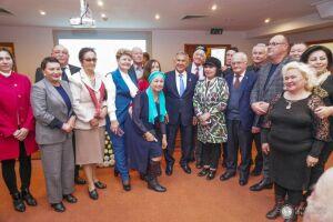 Минниханов поблагодарил татарских активистов Узбекистана за их деятельность