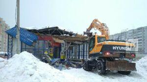 В Казани снесут 18 незаконно установленных торговых точек
