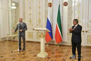 Федор Бондарчук в Казани поздравил деятелей культуры с вручением госнаград Татарстана