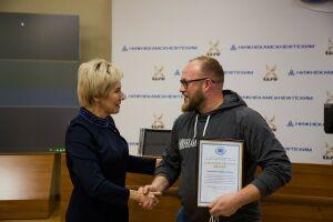 Молодых артистов «Нижнекамскнефтехима» наградили за участие в «Безнен заман»