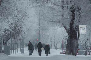 Профессор КФУ пообещал жителям Казани снегопад и потепление в выходные дни