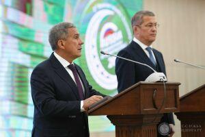Минниханов призвал инвесторов исламских стран реализовывать проекты в РФ