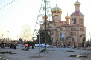 В Алексеевском перенесли место центральной елки и новогодних гуляний
