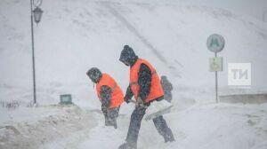 Снег и метель ожидаются в Татарстане