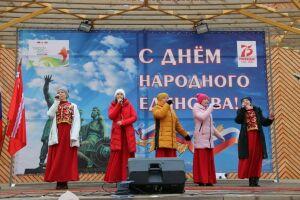 День народного единства в Тетюшах отпраздновали концертом и народными гуляниями