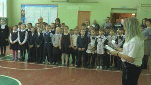 В высокогорском селе прошло посвящение в ряды Российского движения школьников