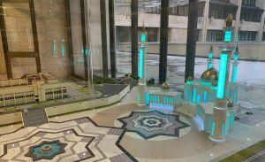Мэрия Набережных Челнов представила макет мечети-долгостроя «Джамиг»