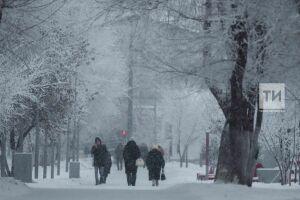 Синоптики ожидают устойчивого снежного покрова в Татарстане в 20-х числах ноября