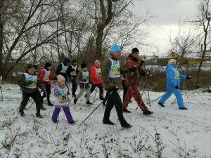 Марш-бросок «Кукморский патриот» преодолели участники от шести до 80 лет
