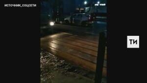 Иномарка сбила пешехода, переходившего  дорогу по «зебре» в Казани