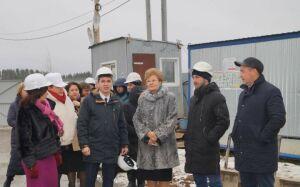 В Елабуге первый этап строительства полилингвальной школы подошел к концу