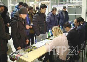 Тысяча граждан Узбекистана проголосовала  в Нижнекамске за парламент своей страны