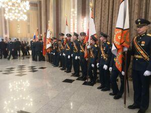 Челнинцы привезли на юбилей в подшефную военную часть послания от родных служащих