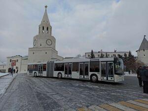 Метробусы из Минска протестируют по трем казанским маршрутам