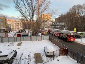 Из-за перегрева электродвигателя из детсада в Казани эвакуировались 165 человек